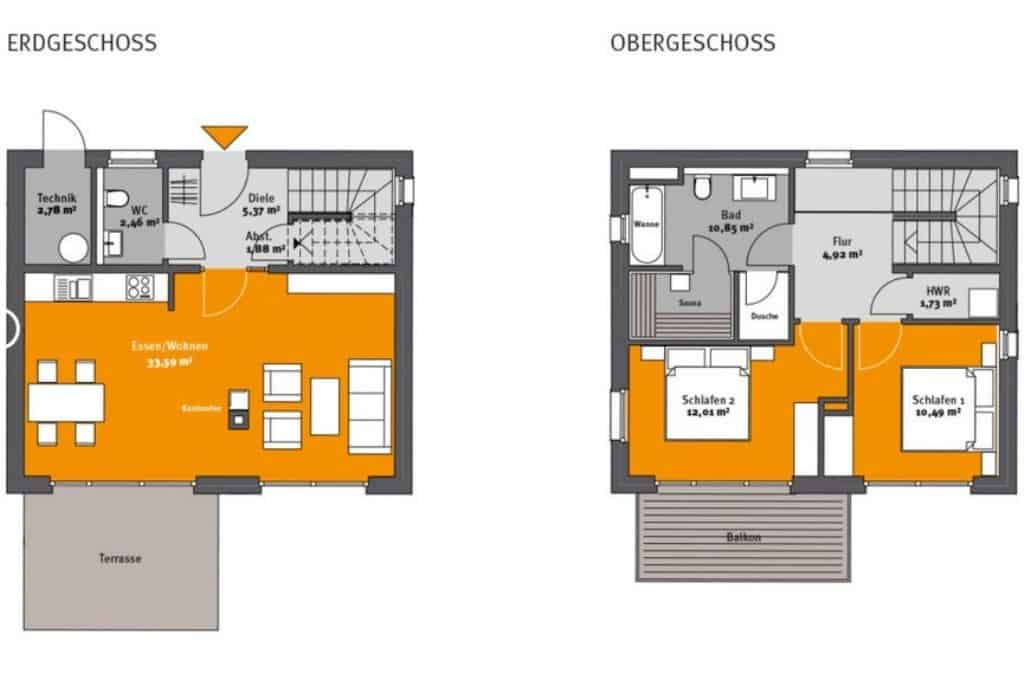 Holiday house Marta am Diemelsee floor plan
