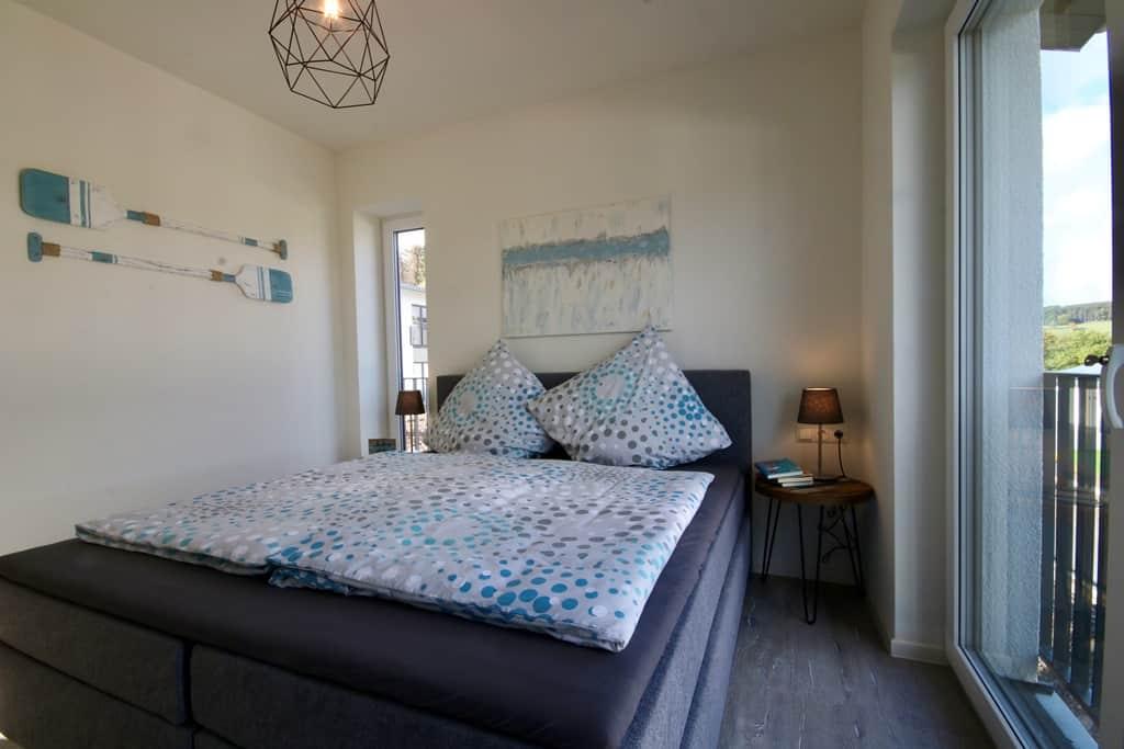 Ferienhaus Marta am Diemelsee Schlafzimmer 2 Bett