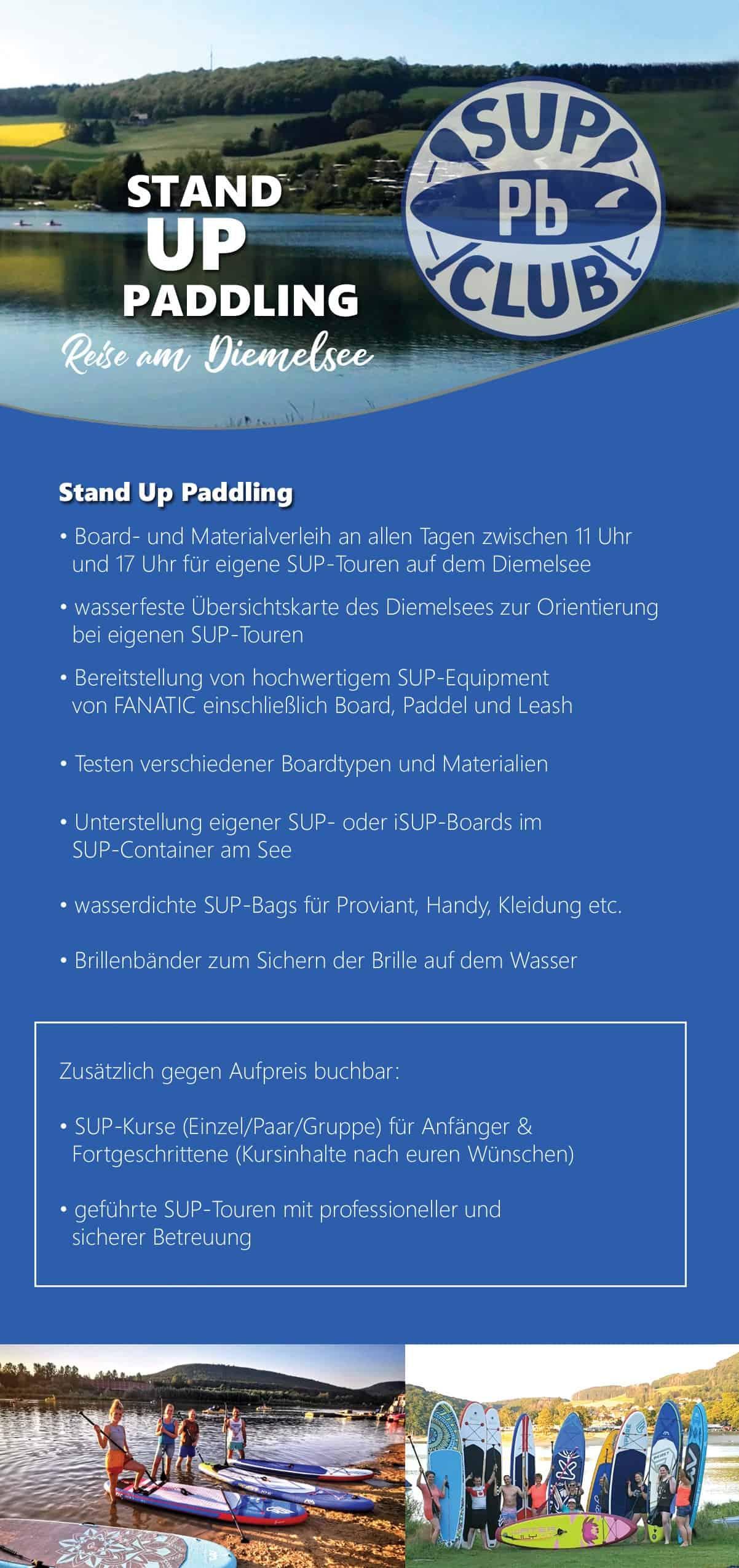 HolidayHOUSE Marta - Stand Up Paddling Diemelsee