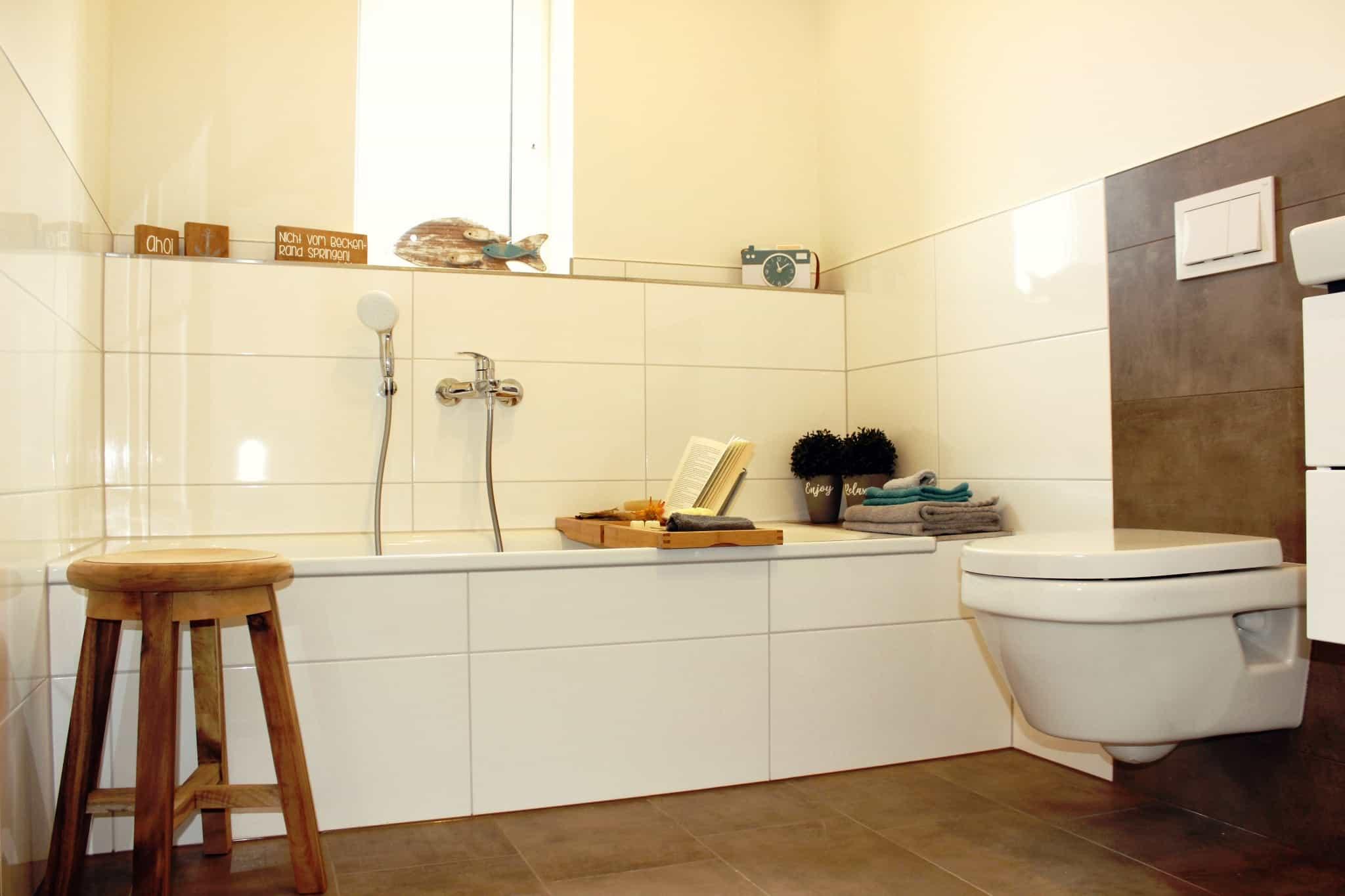 Ferienhaus Marta am Diemelsee Badewanne