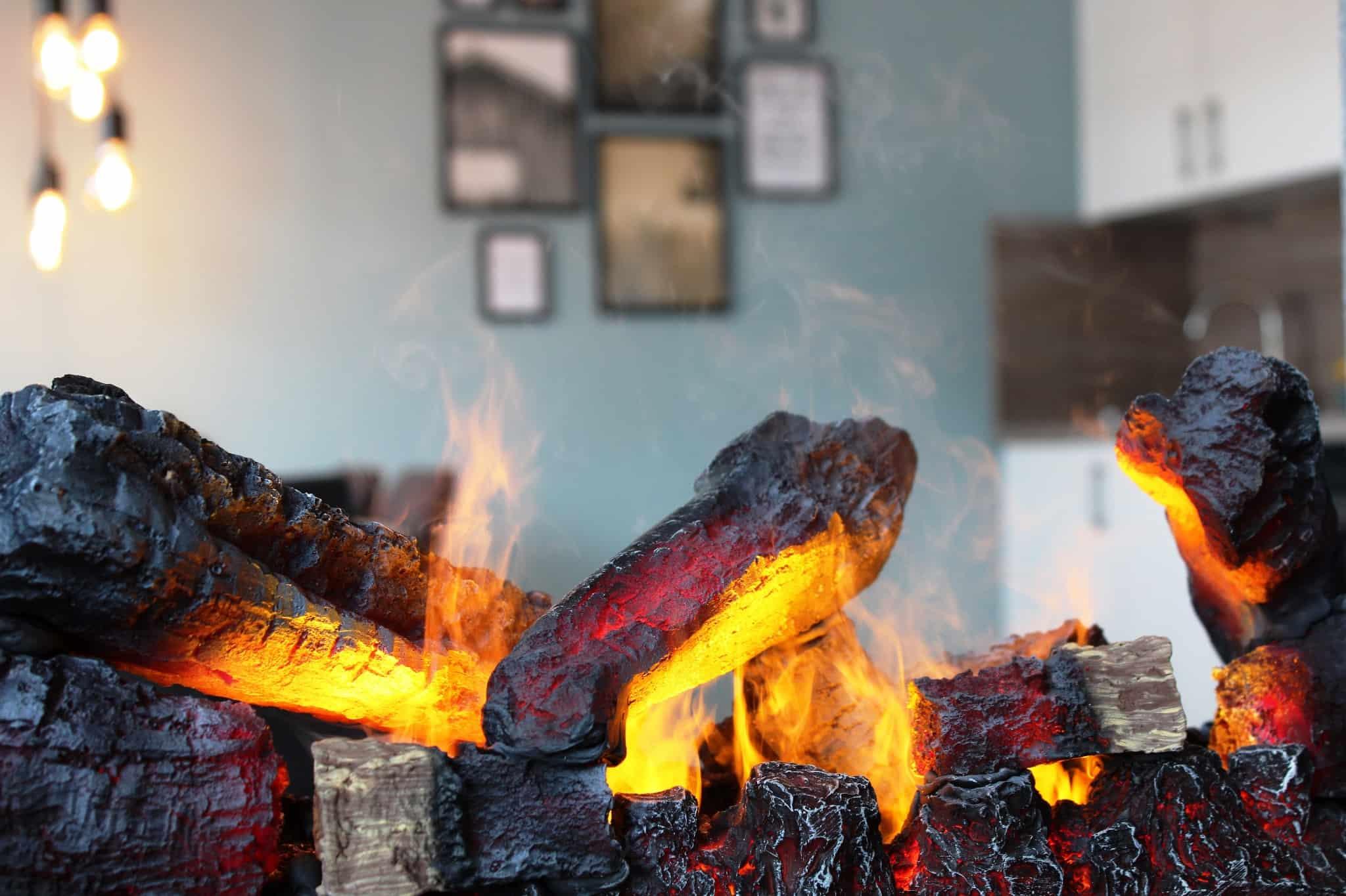 Ferienhaus Marta am Diemelsee Feuer