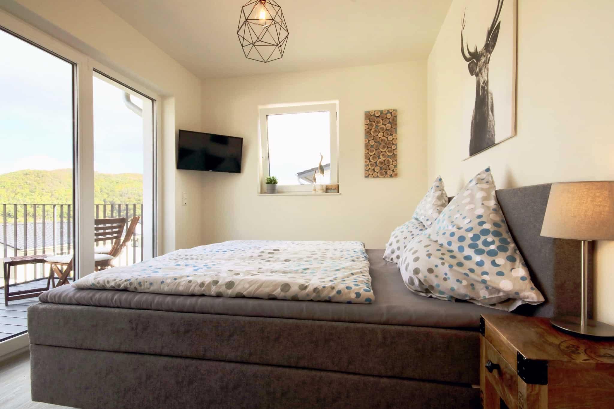 Ferienhaus Marta am Diemelsee Schlafzimmer 1