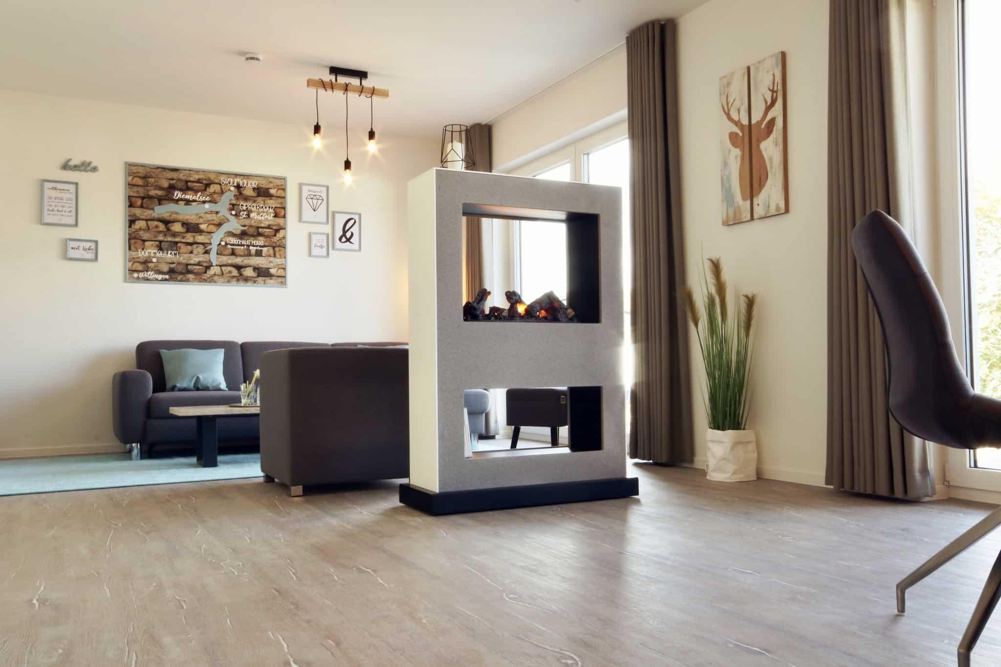 Ferienhaus Marta am Diemelsee Wohnzimmer